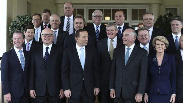 Abbott's cabinet